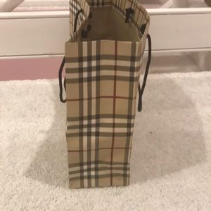 Burberry Other - Authentic Burberry shopping bag